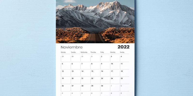 calendarios de pared 2022